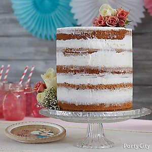 Rustic Naked Cake Idea