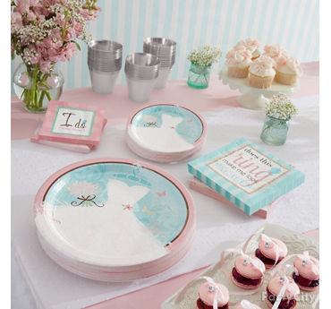 Something Blue Place Setting Idea