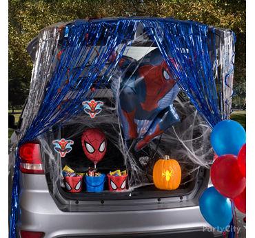 Spider Man Trunk or Treat Idea