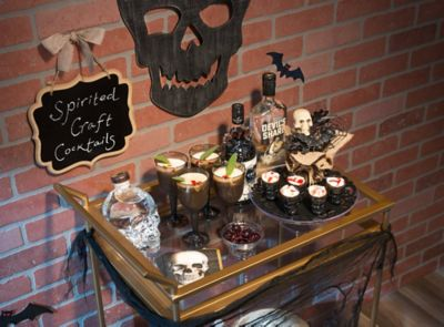 Sinister Bar Cart Ideas