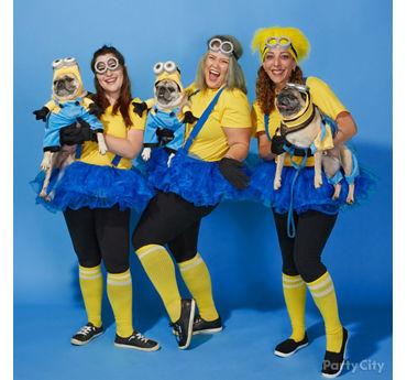 Minions Group Costume Idea