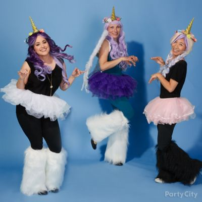 Unicorn Group Costume Idea
