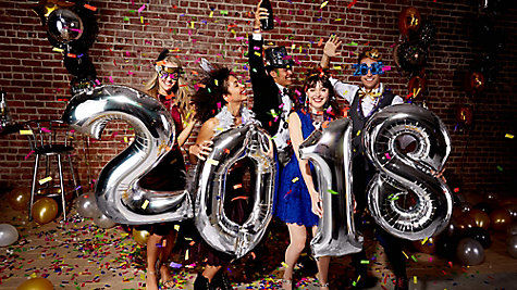 New Years Balloon Photo Op Ideas