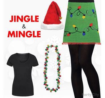 Jingle and Mingle Outfit Idea