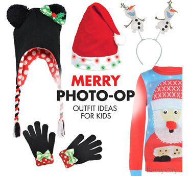 Holiday Photo Outfits for Kids Idea