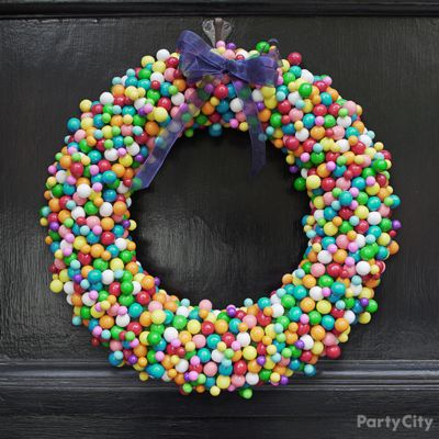 DIY Candy Wreath