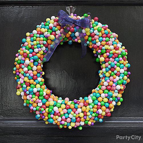 DIY Candy Wreath