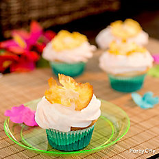Pineapple & Coconut Cupcakes Recipe