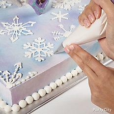 Pipe snowflakes