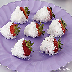 Frozen Coconut Yogurt Strawberries