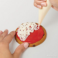 Decorate cookies with
