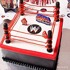 WWE Fondant Cake