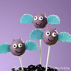 Friendly Bat Doughnut Pops