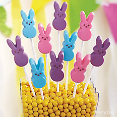 Peeps Bunny Candy Pops