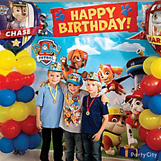 PAW Patrol Balloon Column