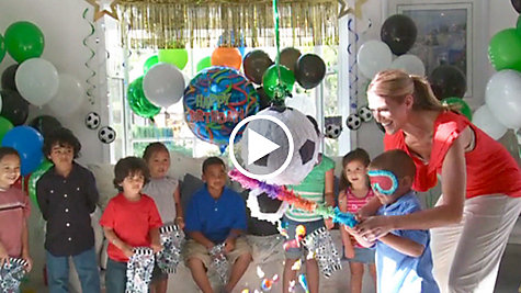 Soccer Party Ideas Video
