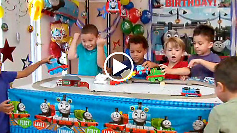 Thomas the Tank Engine Party Ideas Video