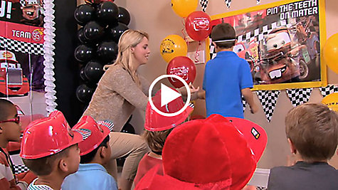 Cars Party Ideas Video