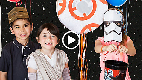 Star Wars Party Ideas Video