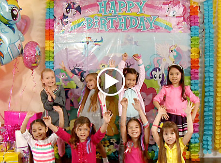 My Little Pony Party Ideas Video