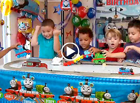 Get Inspired Thomas The Tank Engine Party Ideas Video
