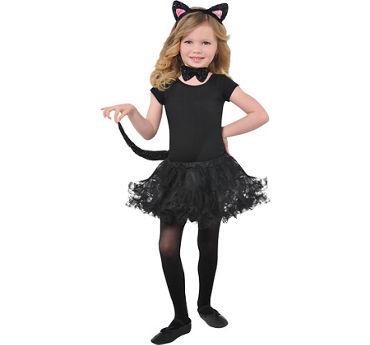 Child Glitter Cat Accessory Kit