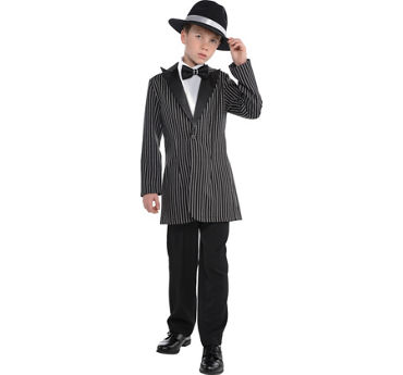 Child Gangster Costume Accessory Kit 2pc