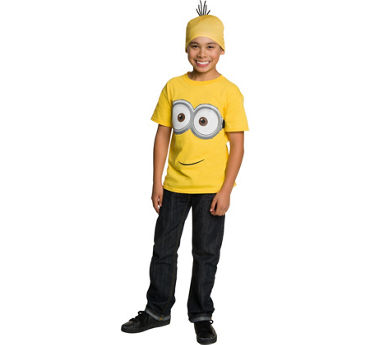 Child Minion Hat & Shirt Set - Minions Movie