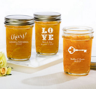 Personalized Mason Jars (Printed Glass)