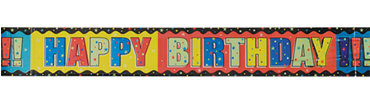 A Year to Celebrate Birthday Banner 12ft