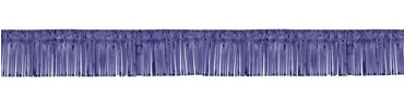 Purple Foil Fringed Garland 20ft