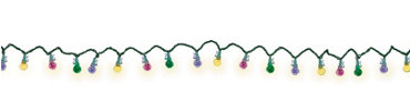 Multicolor Sugar String Lights 13 1/2ft