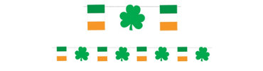 St. Patricks Day Pennant Banner 18ft