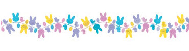Wire Easter Garland 12ft