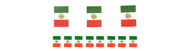 Mexican Flag Fiesta Banner 8ft