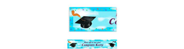 Grad Spirit Custom Graduation Banner 6ft