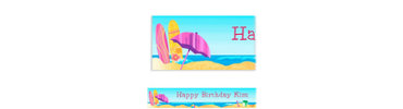 Surf's Up Custom Banner 6ft