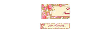 Elegant Bouquet Custom Banner 6ft
