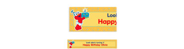 Elmo First Birthday Custom Banner 6ft