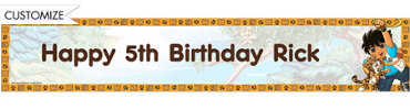 Go, Diego, Go! Custom Birthday Banner