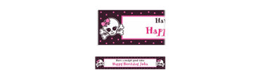 Punk Princess Custom Banner 6ft