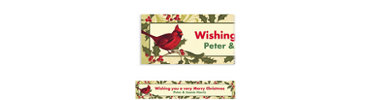 Holiday Tidings Custom Banner 6ft