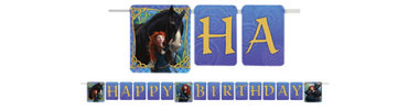 Brave Birthday Banner 8ft