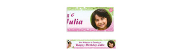 Tiana Custom Photo Banner 6ft