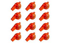 Basketball Whistles 12ct