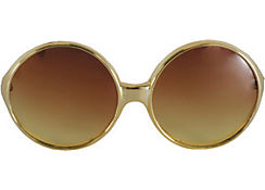 Brown Super Fly Sunglasses
