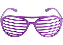 Purple Shutter Glasses