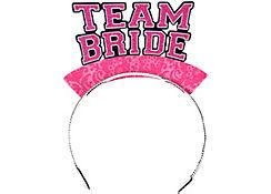 Glitter Team Bride Tiaras 6ct