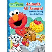 Quick Shop Sesame Street Coloring Activity Book