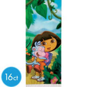 Dora The Explorer Party Bags with Ties 16ct